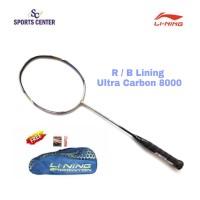 PROMO !! Raket Badminton Lining Ultra Carbon / UC 8000 FULL SET