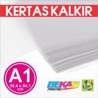 Kertas Kalkir Uk. A1 (84,1 x 59,4 cm) C@lcir Tracing Transparan Paper