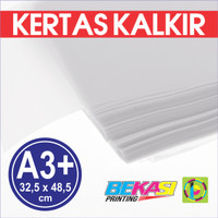 Kertas Kalkir Uk. A3+ (48,5 x 32,5 cm) C@lcir Tracing Transparan Paper