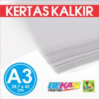 Kertas Kalkir Uk. A3 (42 x 29,7 cm) C@lcir Tracing Transparan Paper