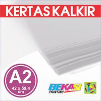 Kertas Kalkir Uk. A2 (42 x 59,4 cm) C@lcir Tracing Transparan Paper