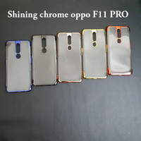 Oppo F11 pro SHINING CHROME TPU CASE CLEAR Silicone Case