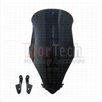 Mika Tameng Visor Windshield Motor Honda PCX V1 MHR Hitam