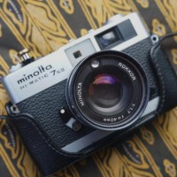 RARE Minolta Hi Matic 7s II. MULUS COMPACT not leica nikon canon