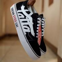 Sepatu Vans Patta Import Terbaru Hitam Putih
