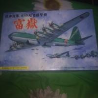 pesawat heavy bomber fugaku fujimi modelkit