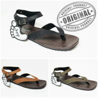 sandal sendal pria eiger jepit wudhu gunung kulit carvil pria RB-c102
