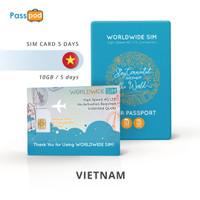SIM Card Vietnam 5 Hari Unlimited - simcard