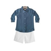 Mosfit Cooper Set Baju Setelan Anak Laki Laki