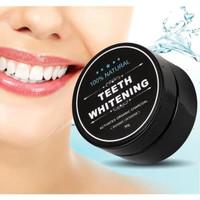 Pemutih Gigi Alami Teeth Whitening Charcoal Powder 30gr Activated