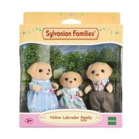Mainan Koleksi Sylvanian Families Yellow Labrador Family (3 Figures)