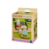 Mainan Koleksi Sylvanian Families Bench & Fountain