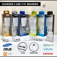 Tc charger 2usb output 2.1A branded