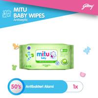 Mitu Baby Wipes Antiseptic [50'S]