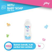 Mitu Baby Liquid Soap Milkbath [Bottle 200ml]