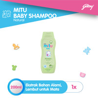 Mitu Baby Shampoo [Bottle 200ml]