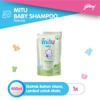 Mitu Baby Shampoo [Refill 400ml]