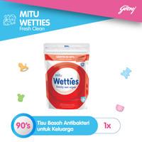 Mitu Wetties Antiseptic [Refill 90'S]