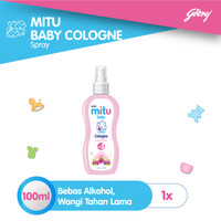Mitu Baby Cologne Pink [Spray 100ml]