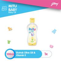 Mitu Baby Oil [Bottle 100ml]