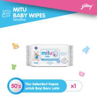 Mitu Baby Wipes Sensitive [50'S]