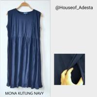 Dress Kutung Baju Hamil dan Menyusui Mona