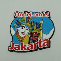 Magnet Kulkas Karet - Ondel-ondel - 74509 - RTA1649