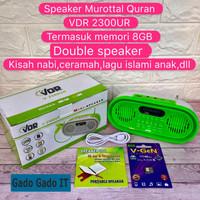 Speaker Alquran Murottal Portable Mini Speaker Quran VDR V-2300UR