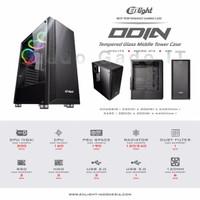 Casing Gaming Komputer PC CPU ENLIGHT ODIN Middle Tower Case (NON PSU)