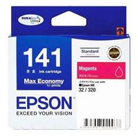 Ink Cartridge Tinta EPSON 141 MAGENTA For Epson ME,Workforce (ORIGINAL