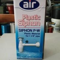 sifon wastafel air pvc