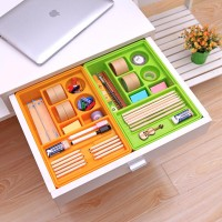 Cheap Home Kitchen Drawers Sorting Boxes Desktop Sundry Plastic