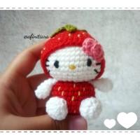Boneka Rajut Hello Kitty