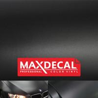 MAX DECAL STICKER HITAM DOFF DOP BLACK MATTE VINYL WRAP PREMIUM CAR
