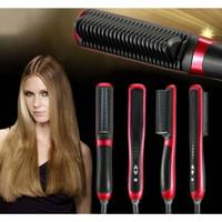 Catok Sisir Pelurus Rambut NEW Fast Hair Straightener Style Kecantikan
