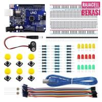 Uno Starter Kit Learning Kit Module Paket Belajar Arduino Dasar