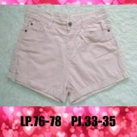 Hot Pants Baby Pink Preloved