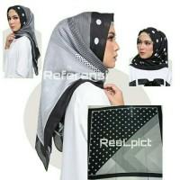hijab voal premium dotty polkadot /kerudung segi empat