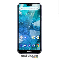 Nokia 7.1 - Android One - Biru - 4Gb/64Gb Snapdragon 636, 8MP/12MP