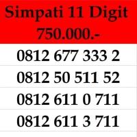 Nomor Cantik Simpati 11 Digit Kartu Perdana Telkomsel Bukan Indosat 10