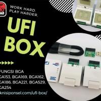 UFI BOX lengkap terbaru (termasuk BGA 254)