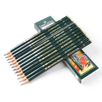 Pensil 2B Graphite Pencils Castell 9000 1 pcs - Faber Castell
