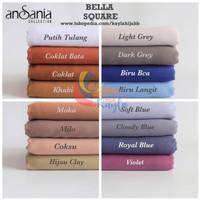 Hijab segiempat Bella square / Jilbab Segi Empat Bella Square Double
