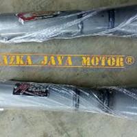 Knalpot Racing Kolong Galvanis Yamaha RX King Merk CSR suara garing -