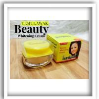 temulawak beauty day night whitening cream 2 in 1 original embos pot k