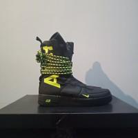 Nike Air Force SF AF1 Hi Black/Volt-Black