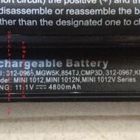 BATERAI DELL INSPIRON MINI 1012 1018 N450, im1012 Series - 100% NEW