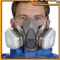 AL372 3M Half Facepiece Respirator Half Gas Mask Medium Masker Gas 3M