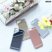 Grosir Chrome Mirror Case - iPhone - Samsung Galaxy Grand Prime,