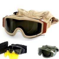 Murah Kualitas Militer Airsoft Taktis Kacamata Kacamata Menembak